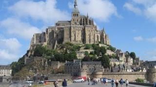 видео: Франция  Нормандия  Аббатство Мон Сен Мишель