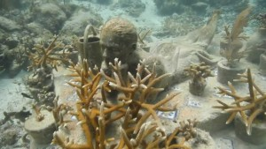Музей подводных скульптур в Мексике Канкун