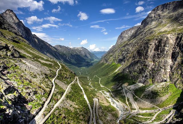 Дорога троллей (Trollstigen)
