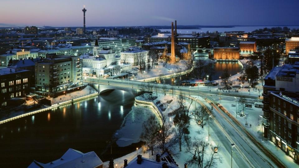 Поездка на новый год в Финляндию