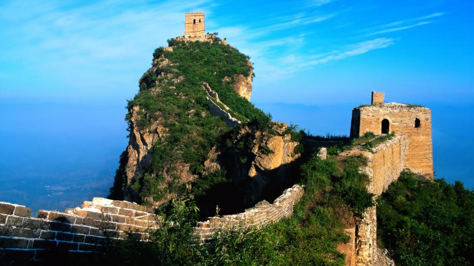 Поездка на Великую Китайскую стену видео